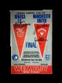Signed 1968 European Cup Final Programme by Stepney Sadler & Aston