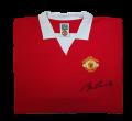 Sir Bobby Charlton Signed 1972/1973 Manchester United Home shirt