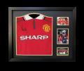 Paul Scholes Hand Signed 1999 Home Shirt