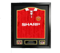 Bryan Robson Signed & Name Personalised official 1992-94 home shirt
