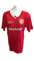 Scholes and May Signed Shirt