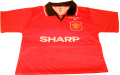Roy Keane 96 FA Cup Final Signed shirt