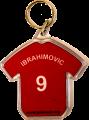 Ibrahimovic Keyring