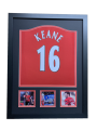Roy Keane Name Personalised Hand Signed Shirt
