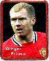 Paul Scholes - Ginger Prince - Badge