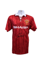 Eric Cantona 1994 FA Cup Final signed shirt.