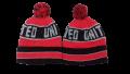 Manchester United Bobble Hat - Red Design