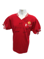 1977 FA Cup Final Manchester United Multi Signed Shirt