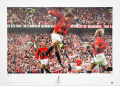 Limited Edition Ruud Van Nistelrooy Hand Signed Manchester United Print