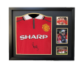 Paul Scholes Name Personalised Hand Signed 1999 Home Shirt