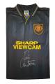 Eric Cantona signed iconic 94 Black