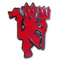 Small red Devil Badge