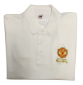 Official Polo shirts of the Association of Former Manchester United Players - White