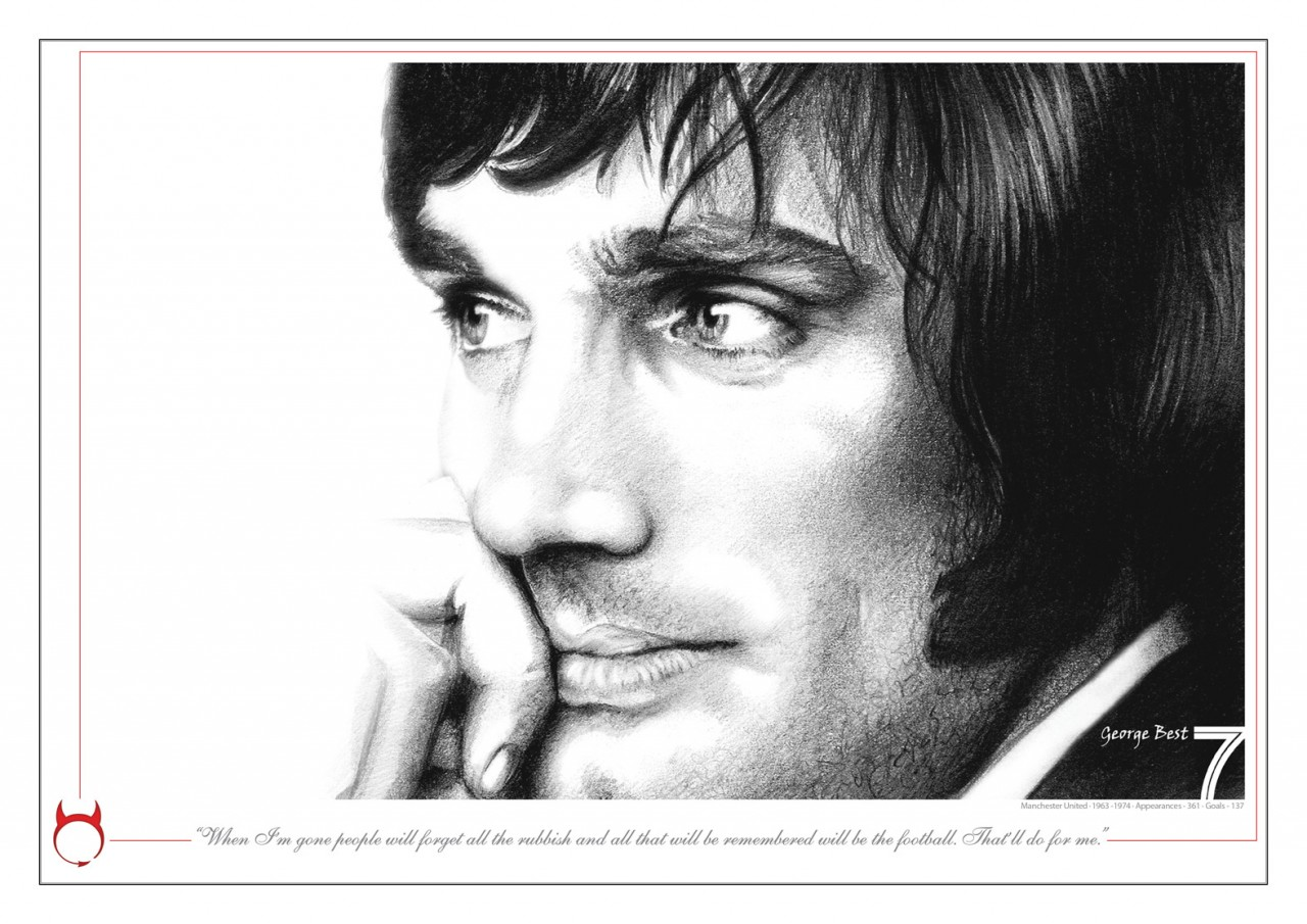 THE MAGNIFICENT 7s limited edition series - number 1 - George Best