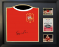 Denis Law Name Personalised Signed Shirt - 1963 FA Cup Final (Sep 2020)