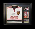 Ryan Giggs Name Personalised Hand Signed 1999 Away Shirt